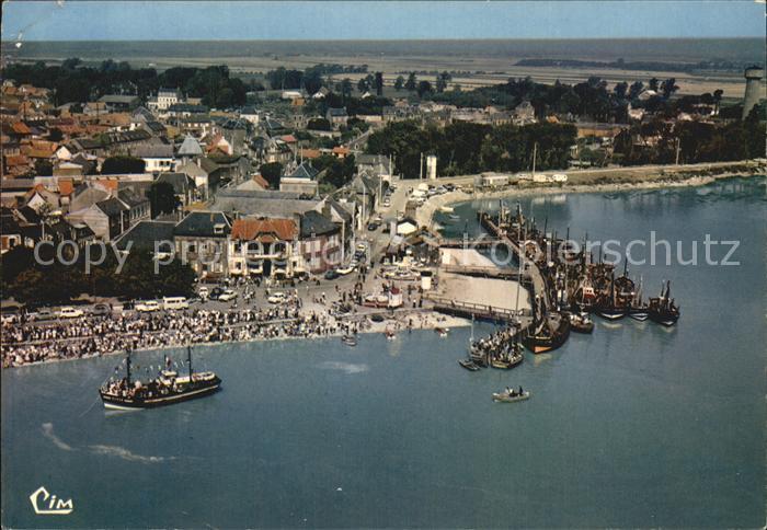 Le Crotoy Fliegeraufnahme Hafen Kat. Le Crotoy