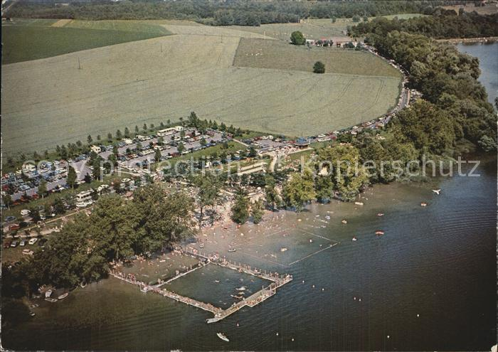 Le Chesne Ardennes Fliegeraufnahme Le Lac de Bairon Kat. Le Chesne