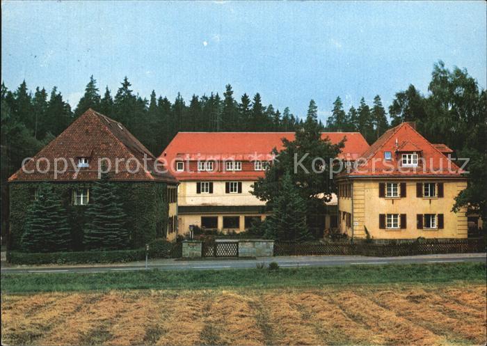 Silberbach Hof Ev Erholungsheim Haus Silberbach im Fichtelgebirge