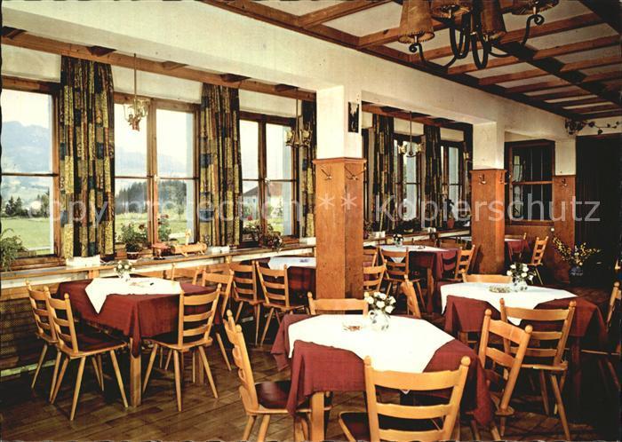 Maria Rain Allgaeu Hotel Cafe Sonnehof Gaststube Kat. Mittelberg Oy