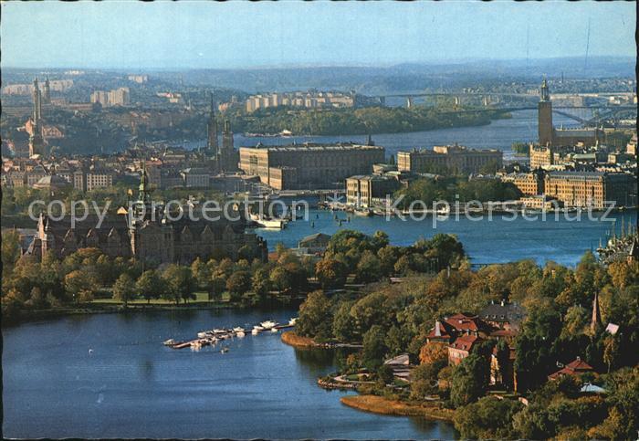 Stockholm Utsikt fran Kaknaestornet Kat. Stockholm