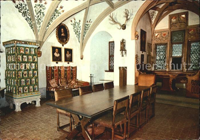Burg Eltz Fahnensaal Im Rodendorfer Haus Kat Wierschem Nr