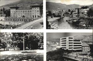 Mostar Moctap Stadtansichten Kat. Mostar