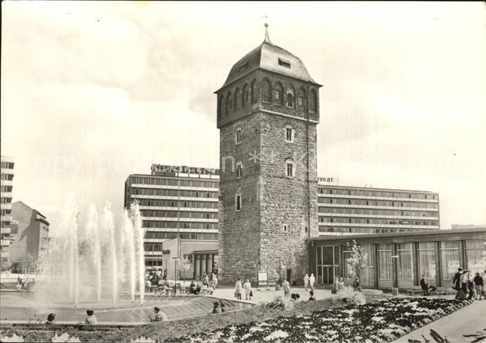 Roter Turm Chemnitz Parken