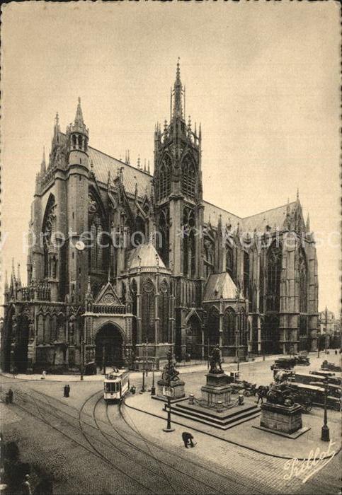 Metz Moselle Kathedrale  Kat. Metz