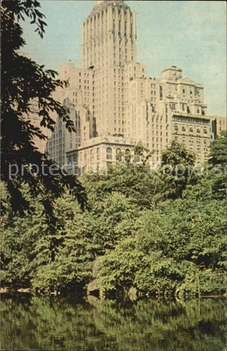 New York City Barbizon Plaza Hotel