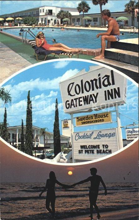 Saint Pete Beach Colonial Gateway Inn Swimmingpool Strand Kat. St Pete Beach