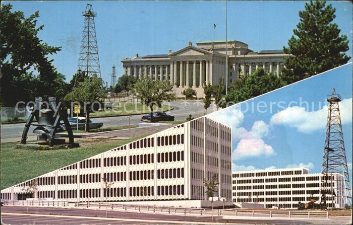 Oklahoma City Oklahoma State Capitol Kat. Oklahoma City