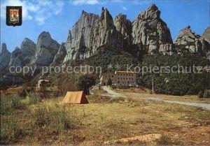 Montserrat Kloster Santa Cecilia Kat. Spanien