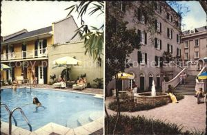 New Orleans Louisiana Te De La Poste Motor Hotel Kat. New Orleans