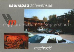 Schierensee Saunabad Machnicki Kat. Schierensee