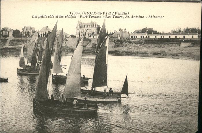 Croix de Vie Vendee Port-Terasse Les Tours St. Antoine Miramor / Saint-Gilles-Croix-de-Vie /Arrond. des Sables-d Olonne