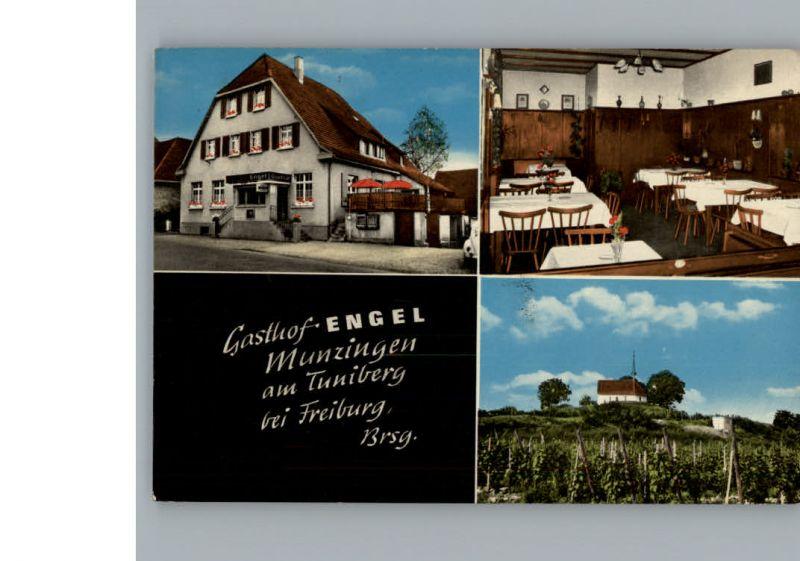 Munzingen Freiburg Gasthof Engel / Freiburg im Breisgau /Breisgau-Hochschwarzwald LKR