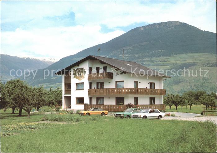 Vinschgau Suedtirol Gasthaus Garni Montoni / Val Venosta /Bolzano
