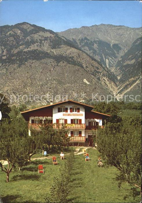 Vinschgau Suedtirol Garni Zur Alpenrose / Val Venosta /Bolzano