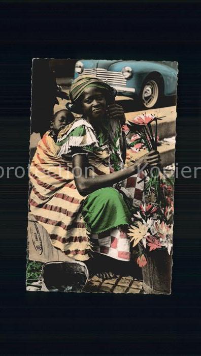 Dakar Marchande de Fleurs  Kat. Dakar