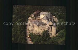 Waldeck Edersee Fliegeraufnahme Burghotel Schloss Waldeck