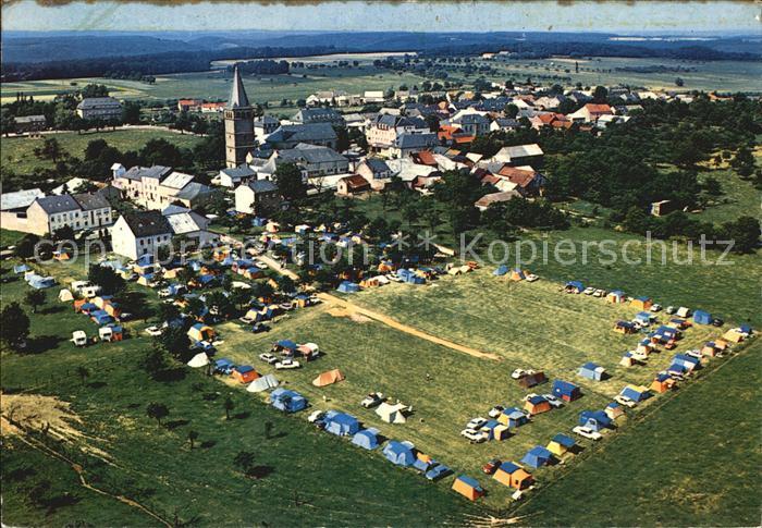Berdorf Echternach Fliegeraufnahme mit Camping Kat. Luxemburg