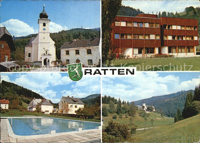 Ratten Kirche Hotel Freibad Kat. Ratten
