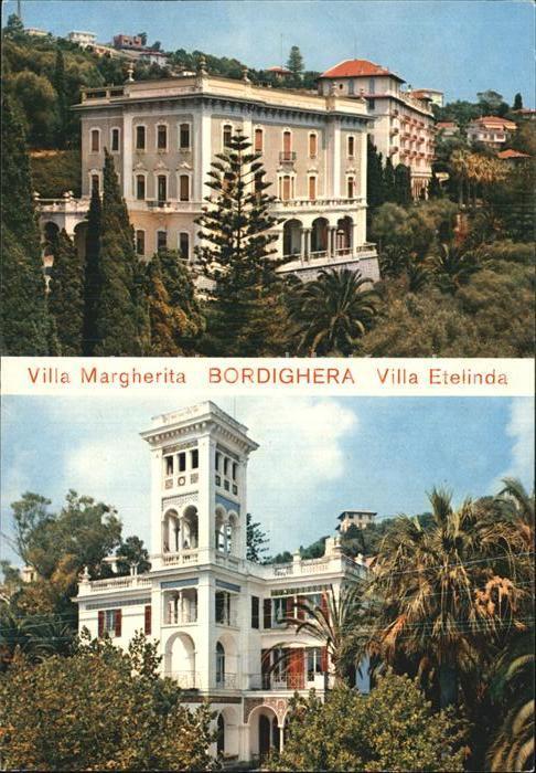 Bordighera Villa Margherita Villa Etelinda Kat. Bordighera