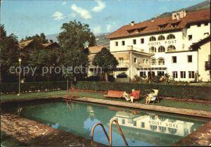 Klausen Suedtirol Hotel Post Schwimmbad Kat. Eisacktal