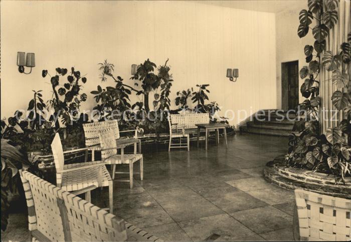 Warmbad Wolkenstein Sanatorium Foyer Kat. Wolkenstein