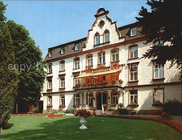 Bad Salzschlirf Sanatorium Wuesthofen Kat. Bad Salzschlirf