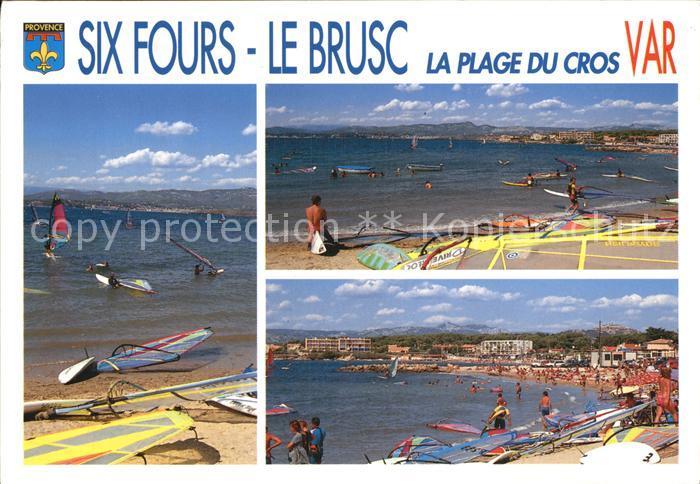 Six Fours les Plages Strand Surfer Kat. Six Fours les Plages