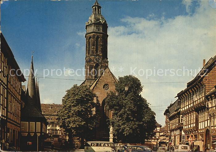 Einbeck Niedersachsen Marktplatz Kirche Kat. Einbeck