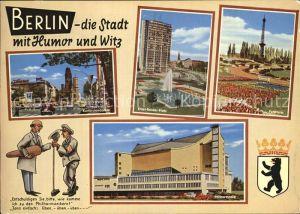 Berlin Funkturm Kurfuerstendam Ernst Reuter Platz Philharmonika Kat. Berlin