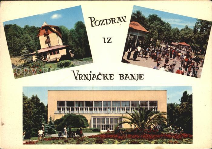 Vrnjacka Banja Raska Stadtansichten Kat. Vrnjacka Banja