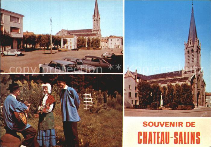 Chateau Salins Stadtansichten  Kat. Chateau Salins