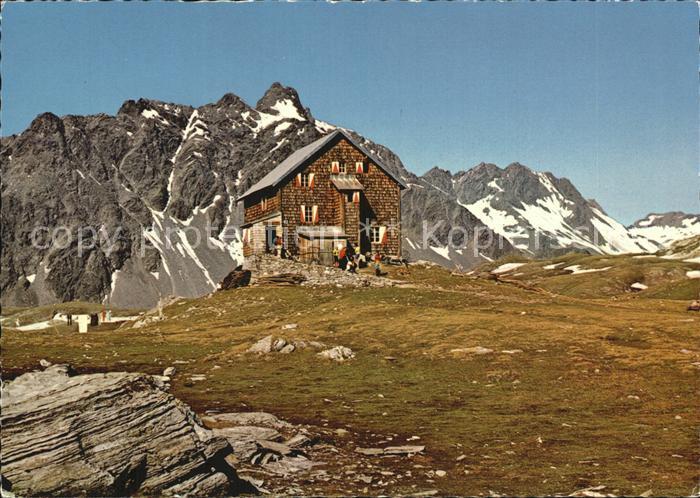 Tirol Region Neue Reichenberger Huette Keeseck Kat. Innsbruck