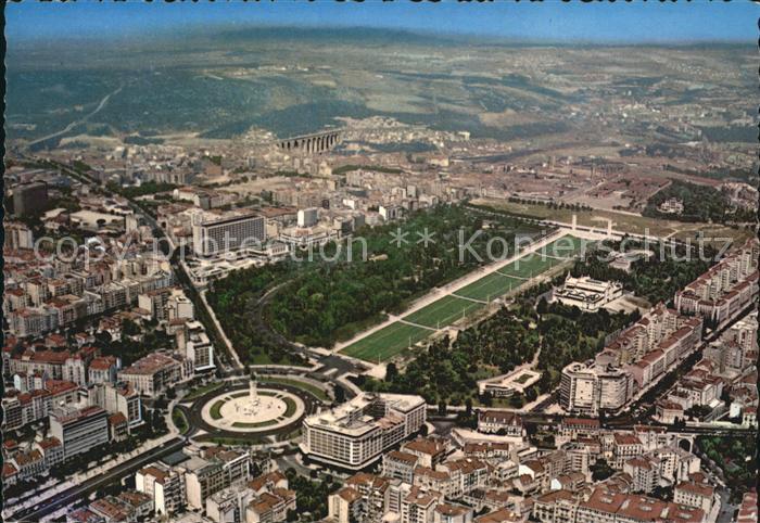 Lisboa Fliegeraufnahme Place Marquis de Pombal Kat. Portugal