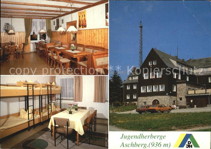 Klingenthal Vogtland Jugendherberge Aschberg Kat. Klingenthal Sachsen