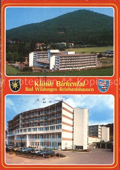 AK / Ansichtskarte Reinhardshausen Klinik Birkental