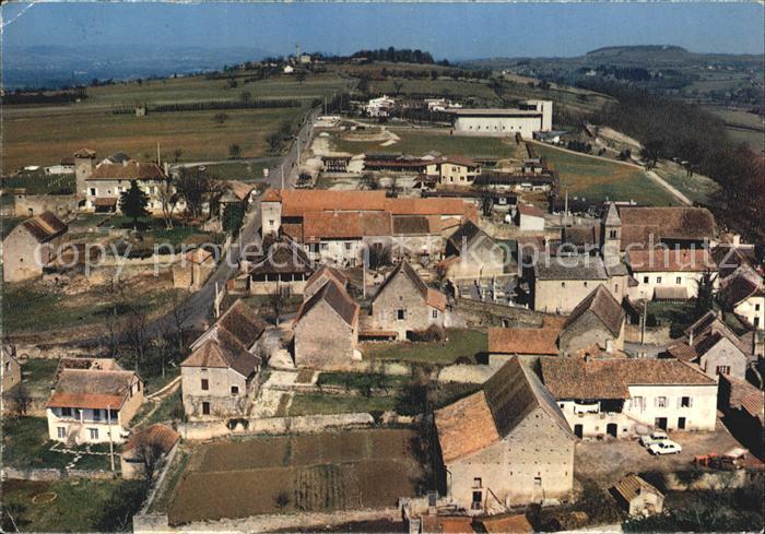 Taize Saone et Loire Village avec eglise romane et eglise de la Reconciliation Kat. Taize