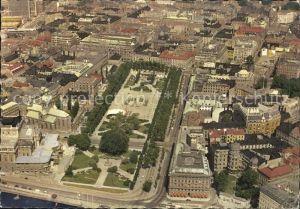 Stockholm Kings Garden Fliegeraufnahme Kat. Stockholm