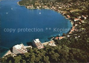 Lopud Dubrovnik Fliegeraufnahme Kat. Insel Lopud Dubrovnik