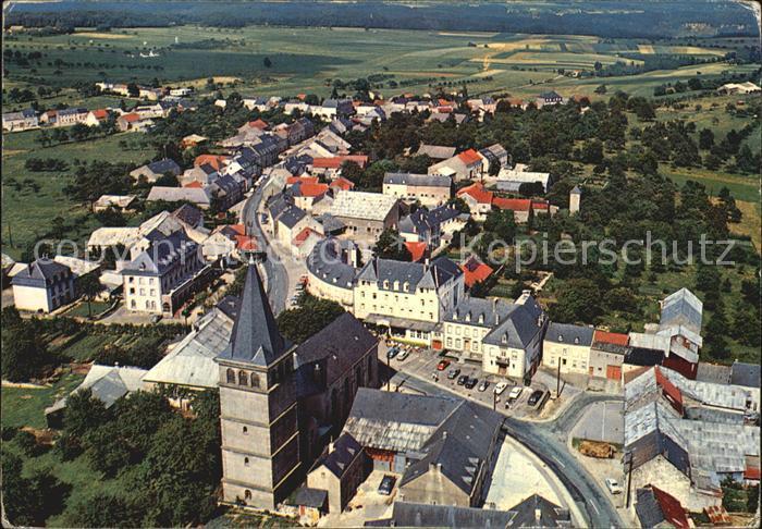Berdorf Echternach Eglise vue aerienne Kat. Luxemburg