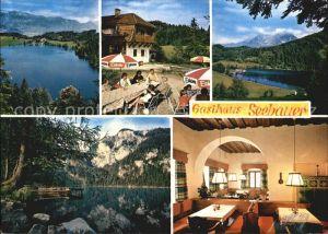 Rossleithen Gasthaus Seebauer Gleinkersee Alpen Kat. Rossleithen