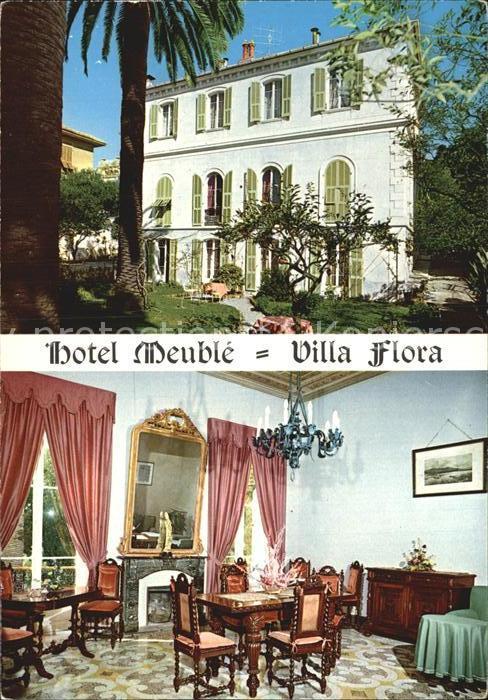 Bordighera Hotel Villa Flora Kat. Bordighera