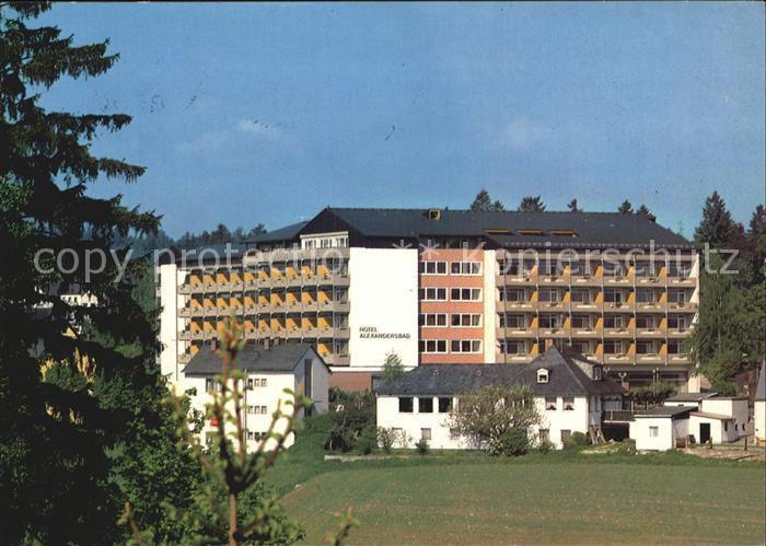 Bad Alexandersbad Hotel Alexandersbad Kat. Bad Alexandersbad