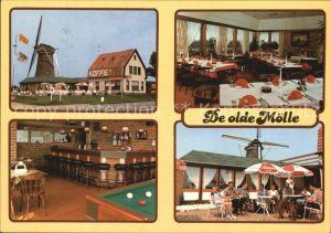 Neede Wegrestaurant De olde Moelle Billard Windmuehle Kat. Neede