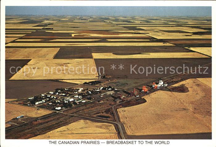 Manitoba Canadian Prairies Breadbasket to the World Kat. Kanada