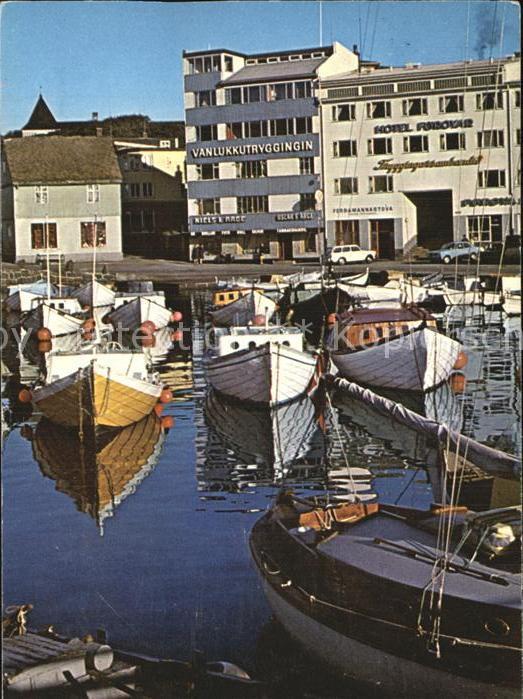 Torshavn Eystaruvag Hafen Kat. Torshavn