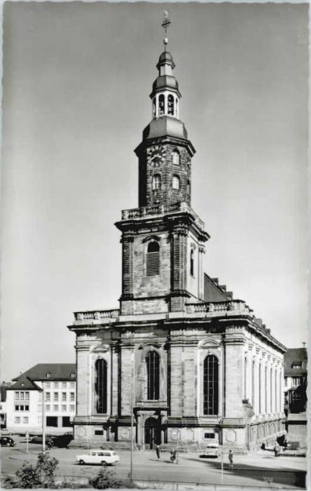 Worms Worms Dreifaltigkeits Reformations Kirche  * / Worms /Worms Stadtkreis