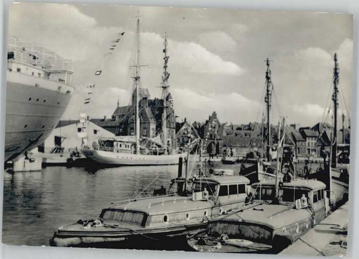 Wismar Mecklenburg Vorpommern Wismar Hafen x / Wismar /Wismar Stadtkreis