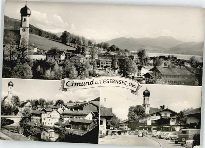 Gmund Gmund  x 1967 / Gmund a.Tegernsee /Miesbach LKR