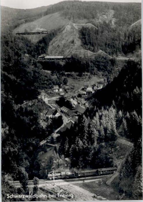 Triberg Triberg Schwarzwaldbahn * / Triberg im Schwarzwald /Schwarzwald-Baar-Kreis LKR